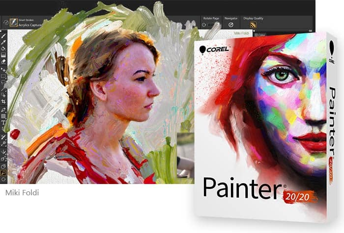 Free Digital Art Software Download – Corel Painter Free Trial