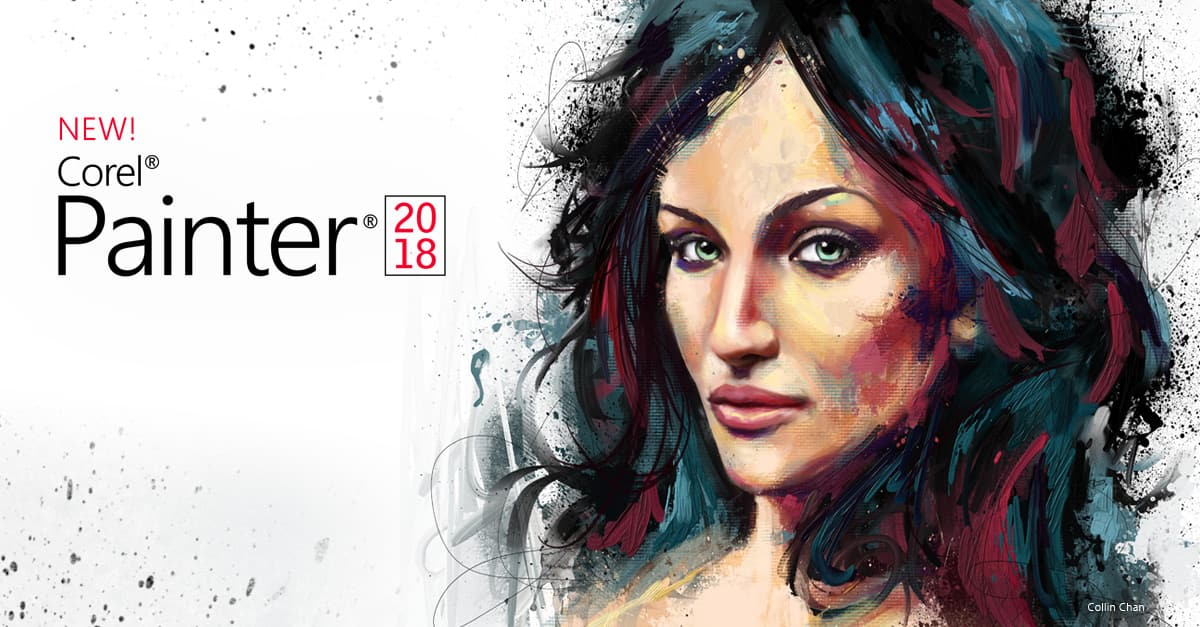 Digital Art Painting Software Corel Painter 2018