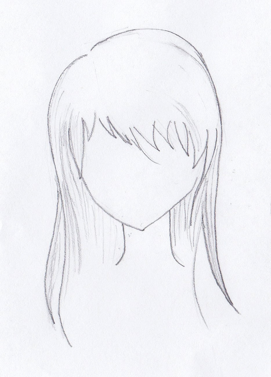Definitive Guide To Drawing Manga Hair