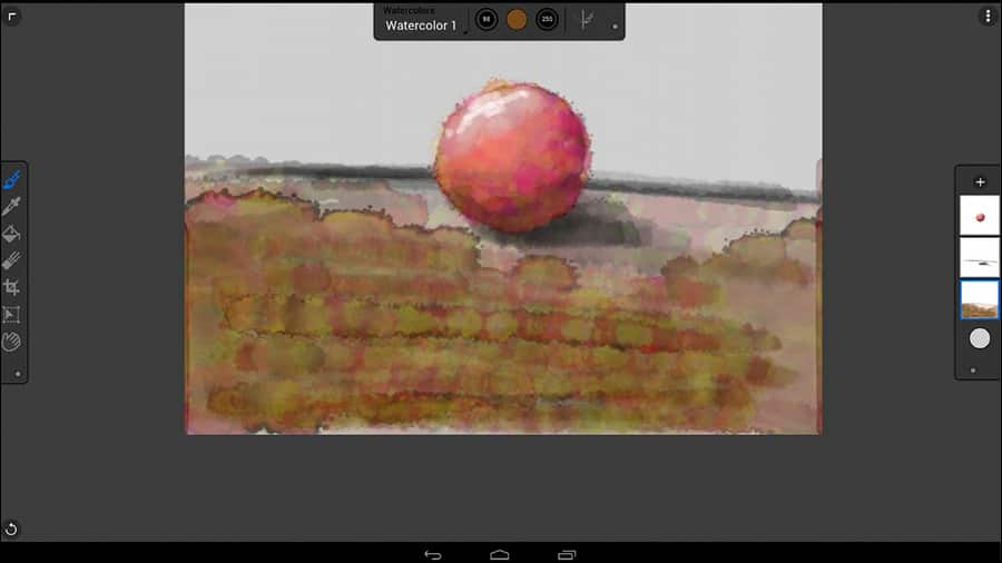 The ultimate paint app corel painter mobile for android for Which paint is better