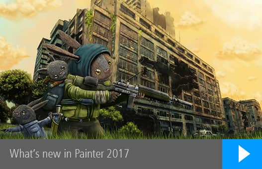What's new in Painter 2017