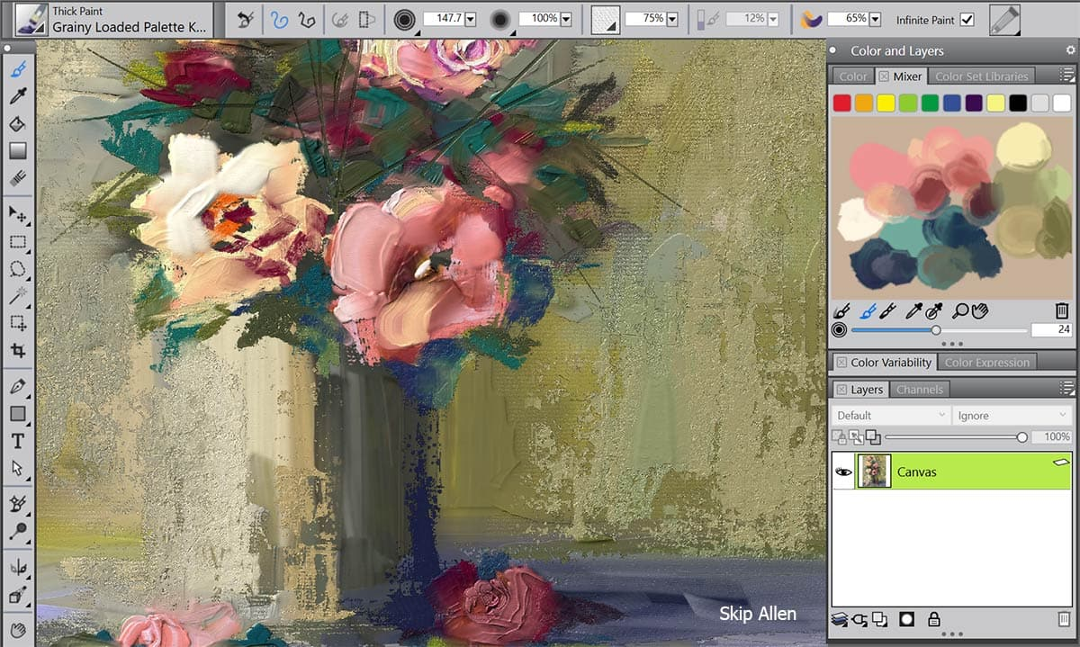 Digital art painting software corel painter 2018 Paint software free download
