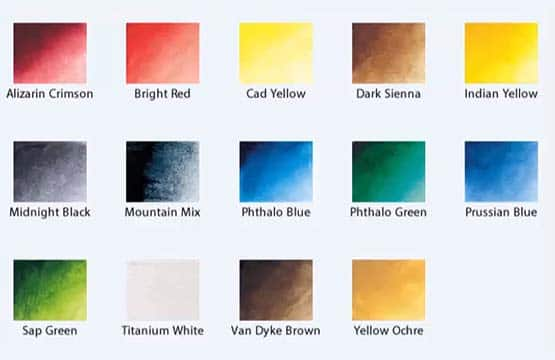 Preparing Your Color Palette