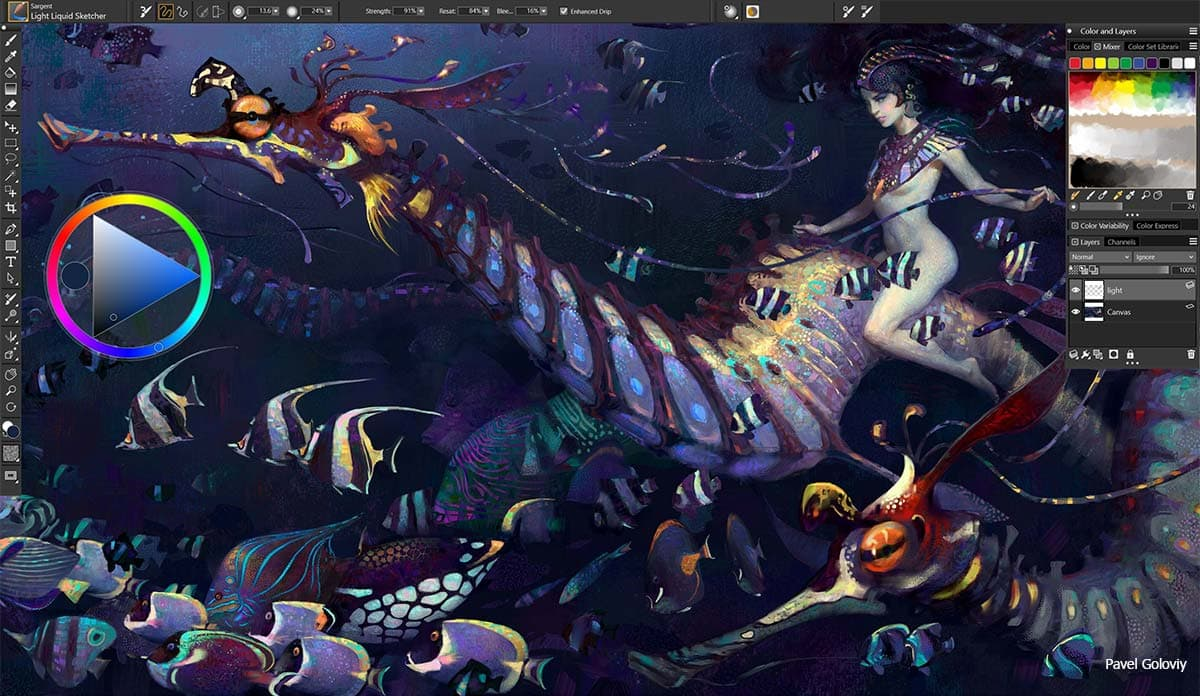Corel Painter 2020 20.1.0.285 破解版
