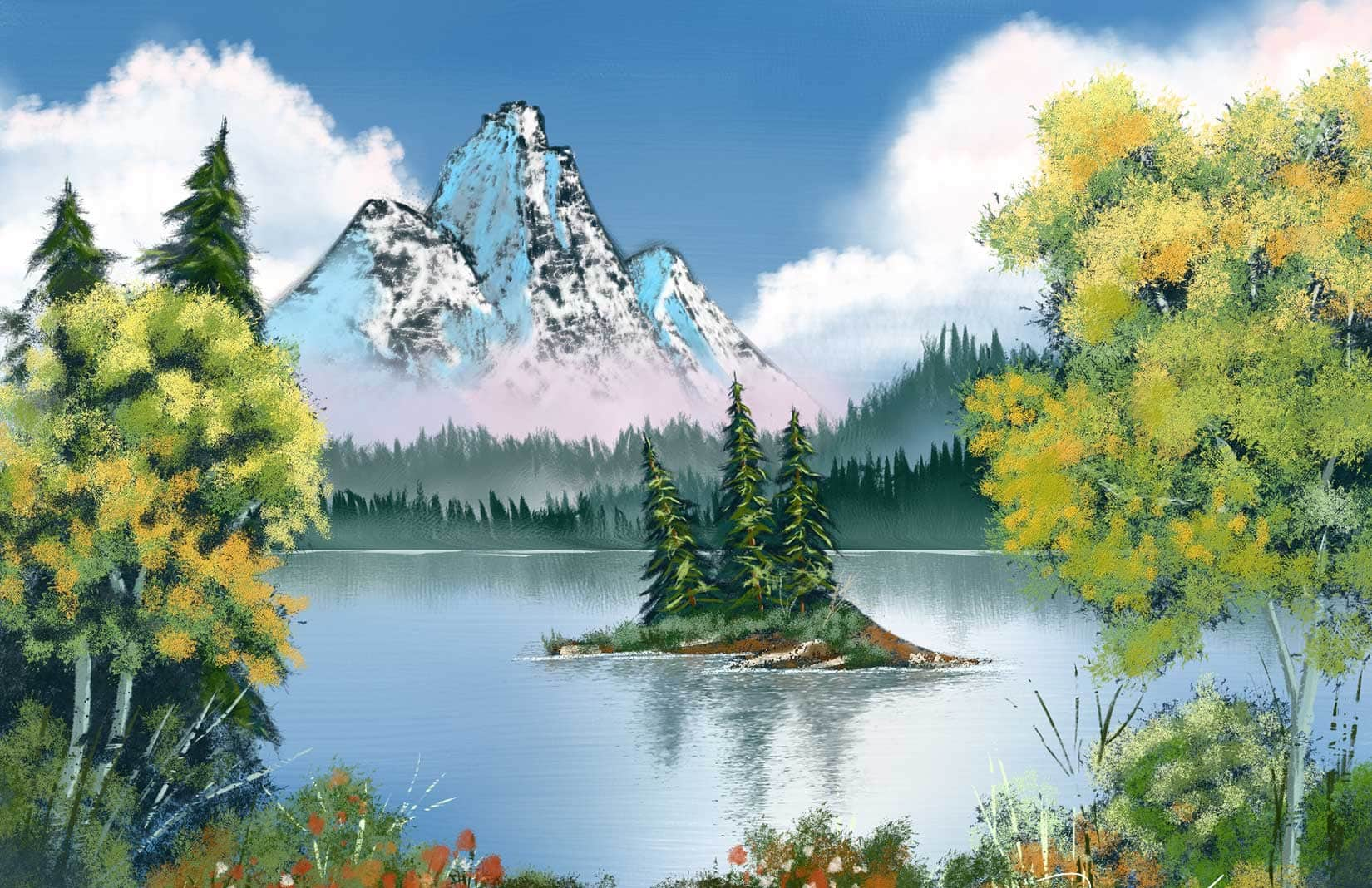 Digital art painting software corel painter 2018 for The art of painting